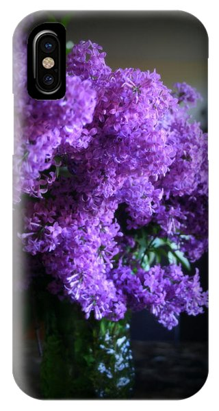 Lilac Bouquet IPhone Case