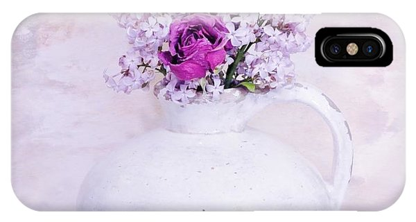 Lilacs And Roses IPhone Case