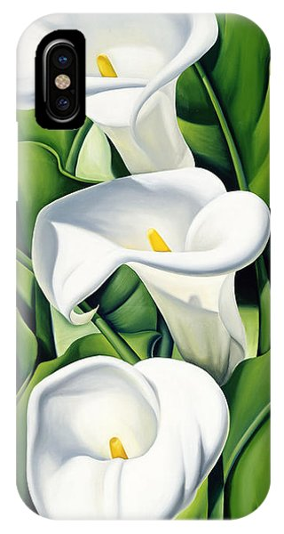 Lily iPhone Case - Lilies by Catherine Abel