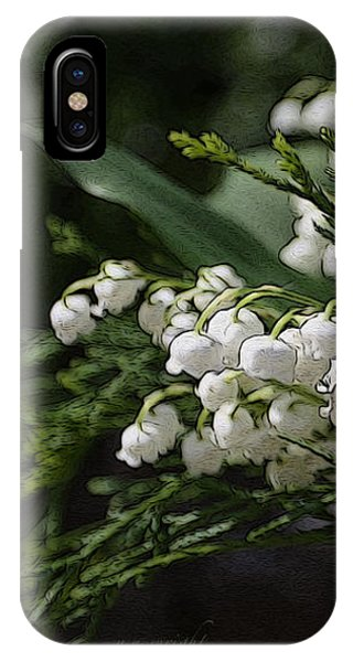 Lilies Of The Valley IPhone Case