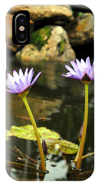Lillies Of The Pond IPhone Case