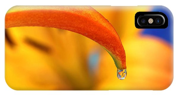 Lily In A Dew Drop IPhone Case