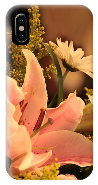 Lily In Pink IPhone Case