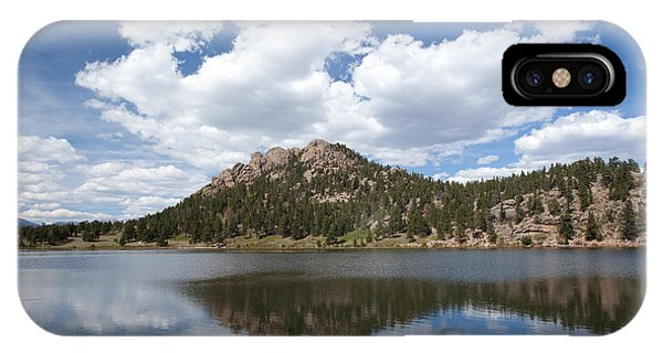 Lily Lake Relection IPhone Case