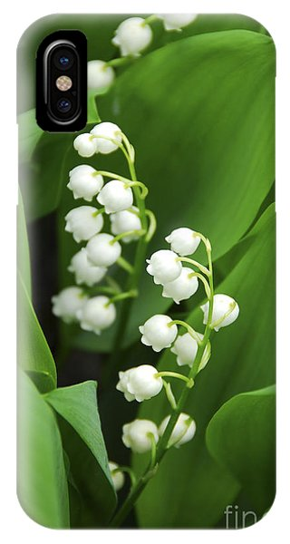 Blossom iPhone Case - Lily-of-the-valley  by Elena Elisseeva