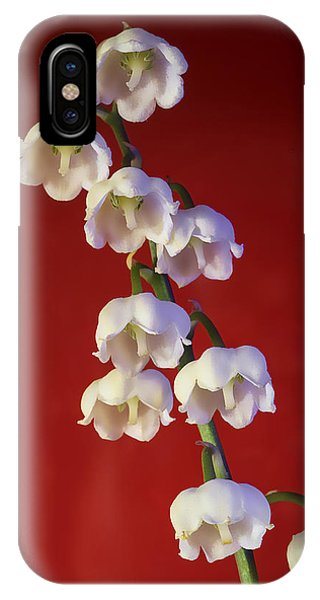 Lily Of The Vallley IPhone Case