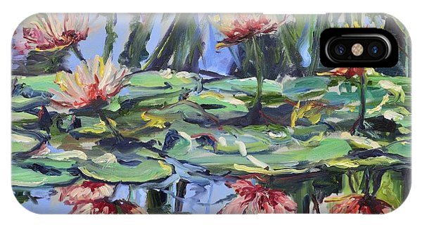 Lily Pond Reflections IPhone Case