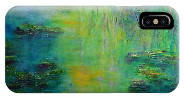 Lily Pond Tribute To Monet IPhone Case
