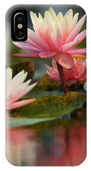 Lily Reflections 2 IPhone Case
