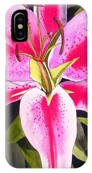 Lily Tenerife Phone Case by Sacha Grossel