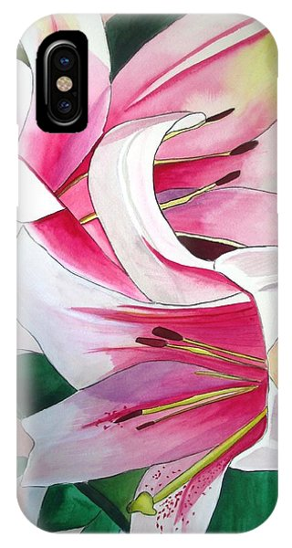 Lily Triumphator Phone Case by Sacha Grossel