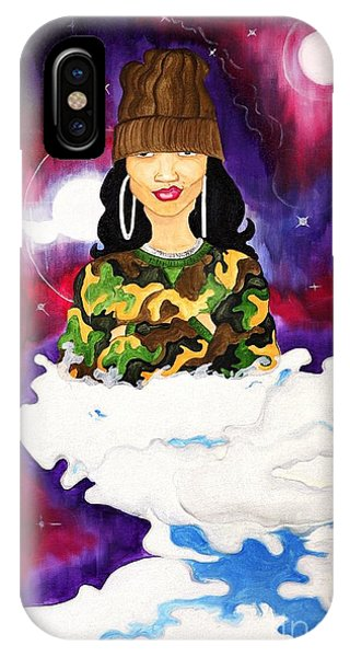 IPhone Case featuring the painting Limitless by Aliya Michelle
