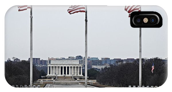 Lincoln And Wwii Monuments 1 IPhone Case