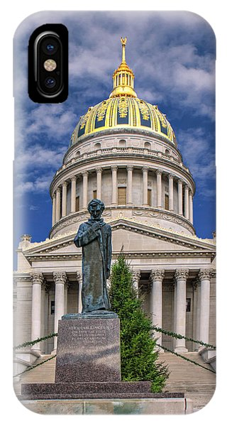 Lincoln At The Capitol IPhone Case