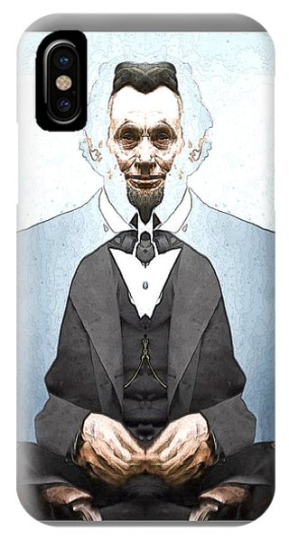 Lincoln Childlike IPhone Case