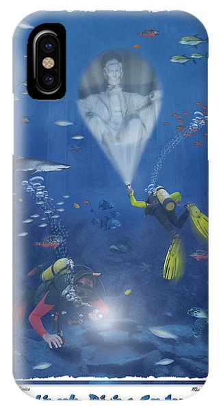 Lincoln Diving Center IPhone Case