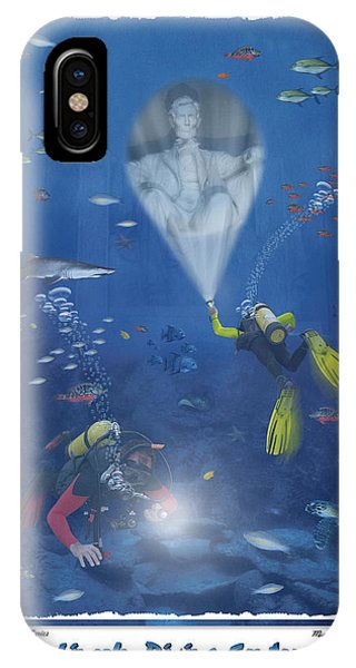 Lincoln Memorial iPhone Case - Lincoln Diving Center by Mike McGlothlen