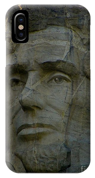 Lincoln In Color IPhone Case