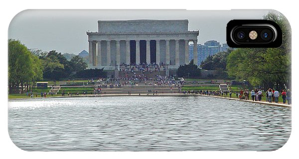 Lincoln Memorial 1 IPhone Case