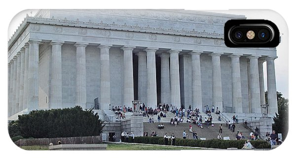 Lincoln Memorial 2 IPhone Case