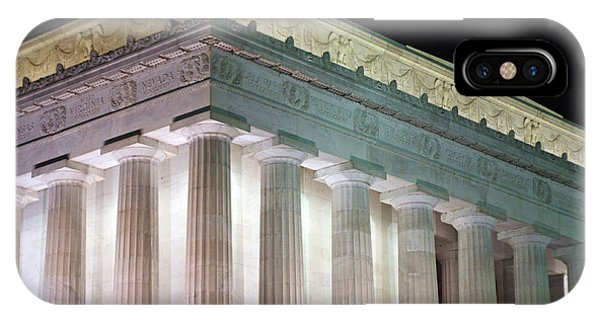 Lincoln Memorial At Night IPhone Case