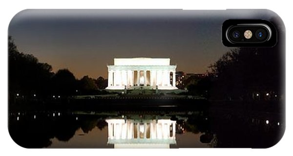 Lincoln Memorial iPhone Case - Lincoln Memorial by Mike Baltzgar