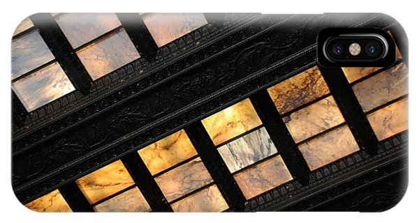 Lincoln Memorial Stained Glass IPhone Case