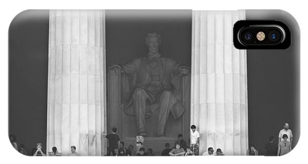 Lincoln Memorial iPhone Case - Lincoln Memorial - Washington Dc by Mike McGlothlen