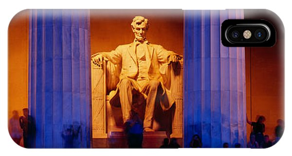 Lincoln Memorial iPhone Case - Lincoln Memorial, Washington Dc by Panoramic Images