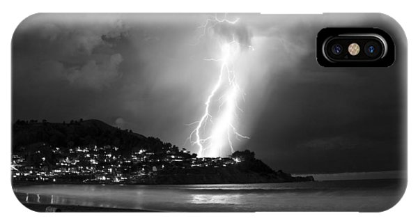 Linda Mar Lightning IPhone Case