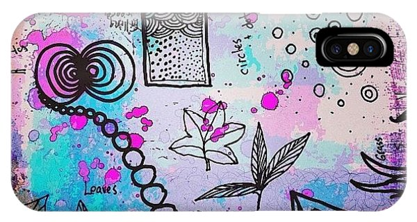 Design iPhone Case - #line #color #shape #design #doodles by Robin Mead