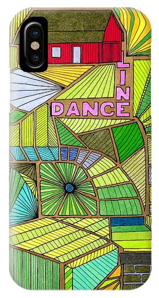 Line Dance IPhone Case