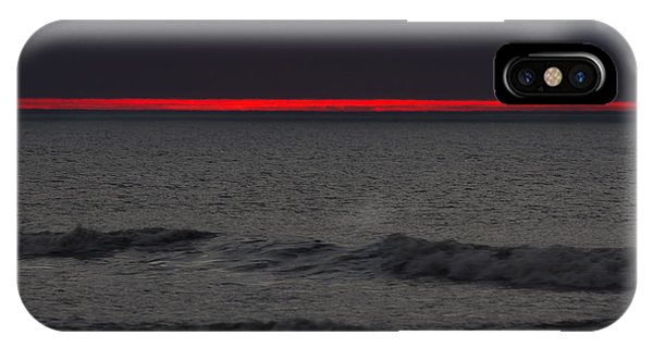 Line Of Fire IPhone Case