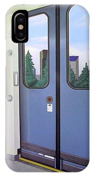 Link Light Rail Seattle IPhone Case