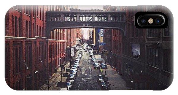 City Scape iPhone Case - Link Us by Matt Maniego