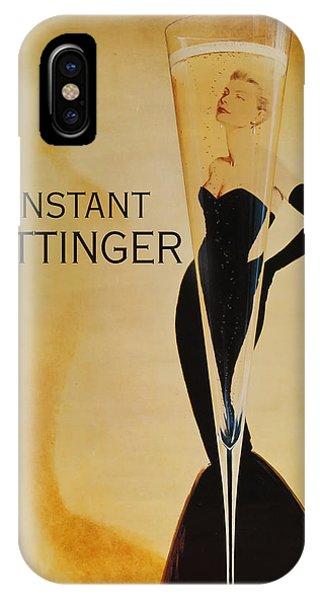 L'instant Taittinger IPhone Case