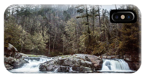 Linville Upper Falls IPhone Case