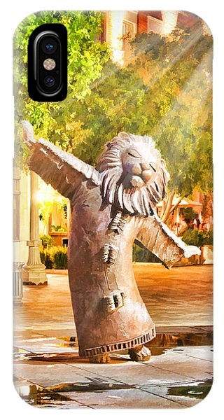 Lion Fountain IPhone Case