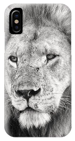 Proud iPhone Case - Lion King by Adam Romanowicz