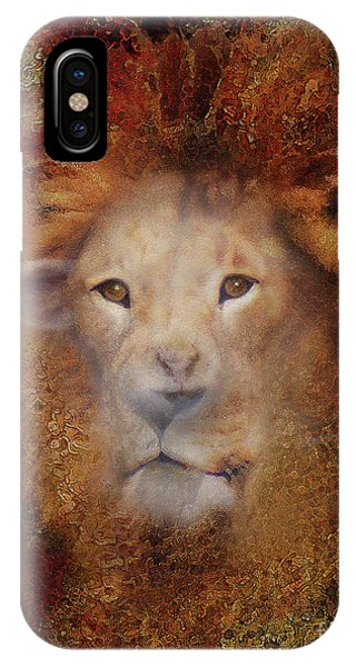 Imagery iPhone Case - Lion Lamb Face by Constance Woods