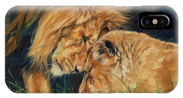 Lion  Love IPhone Case