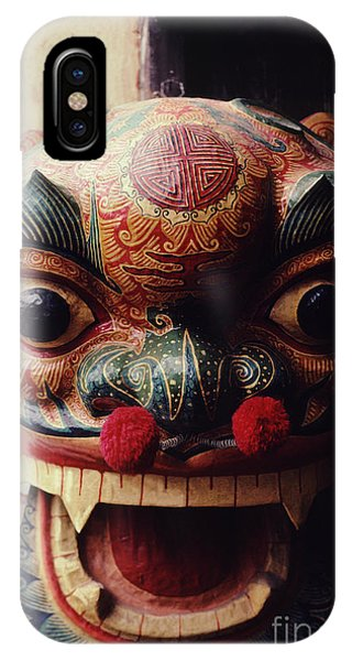 Lion Mask For Chinese New Year IPhone Case