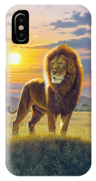 Proud iPhone Case - Lion by MGL Meiklejohn Graphics Licensing