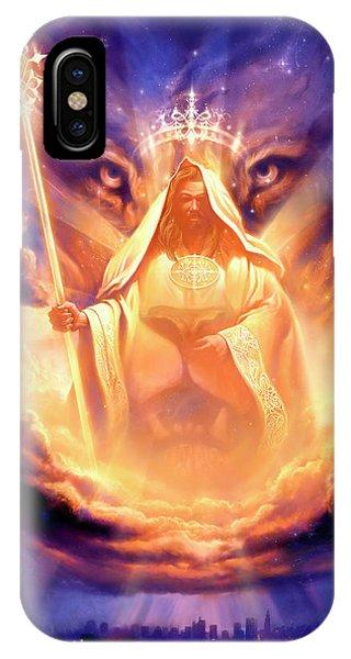 Jesus iPhone Case - Lion Of Judah by Jeff Haynie