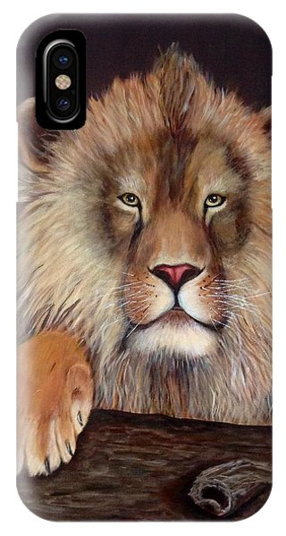 Lion Phone Case by Renate Voigt