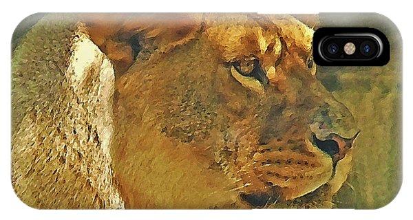 Lioness 2012 IPhone Case