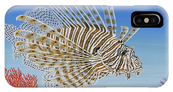 Lionfish And Coral IPhone Case