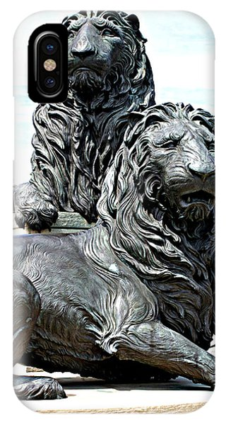 Lions Of Marco Island IPhone Case
