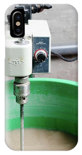 Psi iPhone Case - Liquid Being Machine Stirred by Photostock-israel