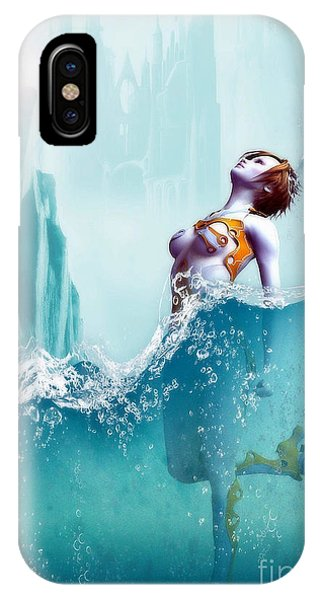 iPhone Case - Liquid Fantasy by Sandra Bauser Digital Art